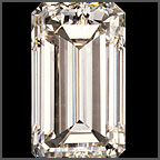 Canadian Emerald cut GIA certificate diamonds price list, Wholesale diamond prices
